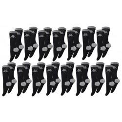 "Pack 15 pares de calcetines ""tennis"" Kappa unisex en color negro"