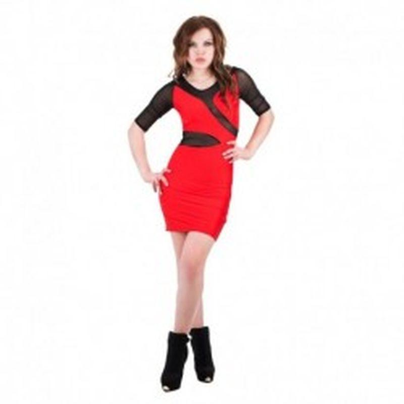 Vestido Mily Rojo