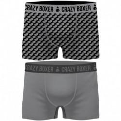 Pack 2 calzoncillos Crazy Boxer multicolor para hombre
