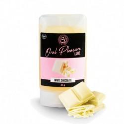 Lubricante comestible Chocolate Blanco