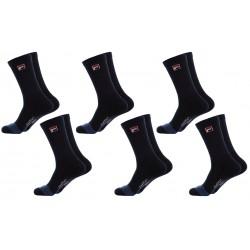 Pack 6 pares de calcetines Cool max FILA en color azul