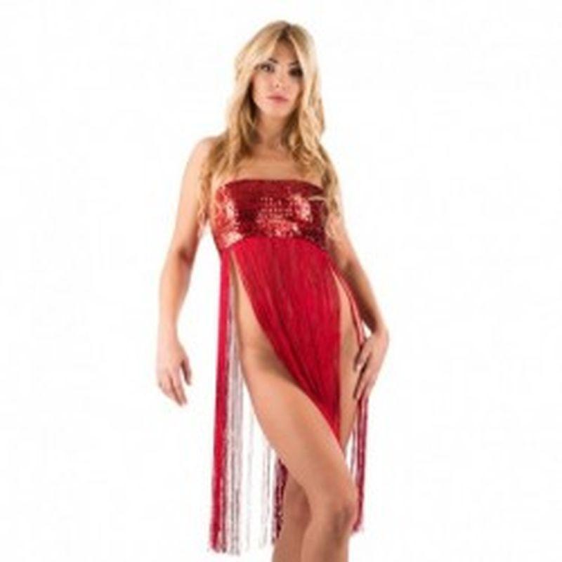 Mini vestido Kady Rojo