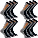 Pack 12 pares de calcetines HEAD en color gris/negro