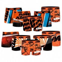 Pack 10 boxer KTM Motorbike surtidos niño