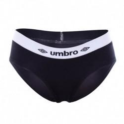 Slip deportivo femenino UMBRO en color negro