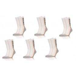Pack 6 pares de calcetines Head en color gris/marino