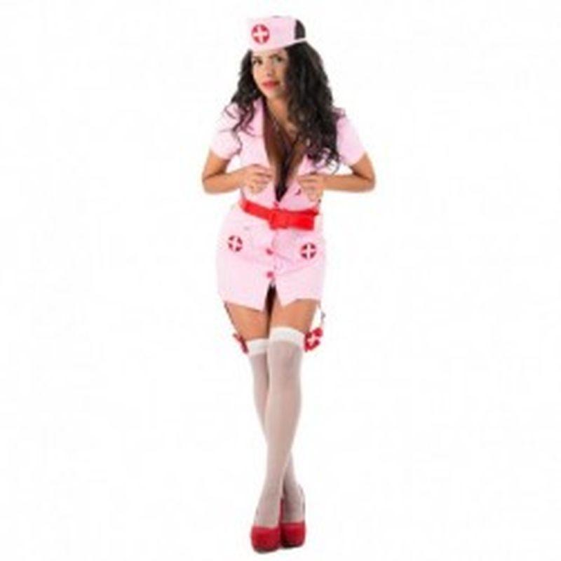 Disfraz Nurse Jaira Rosa