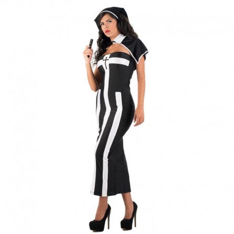 Disfraz Nun Mailen Negro