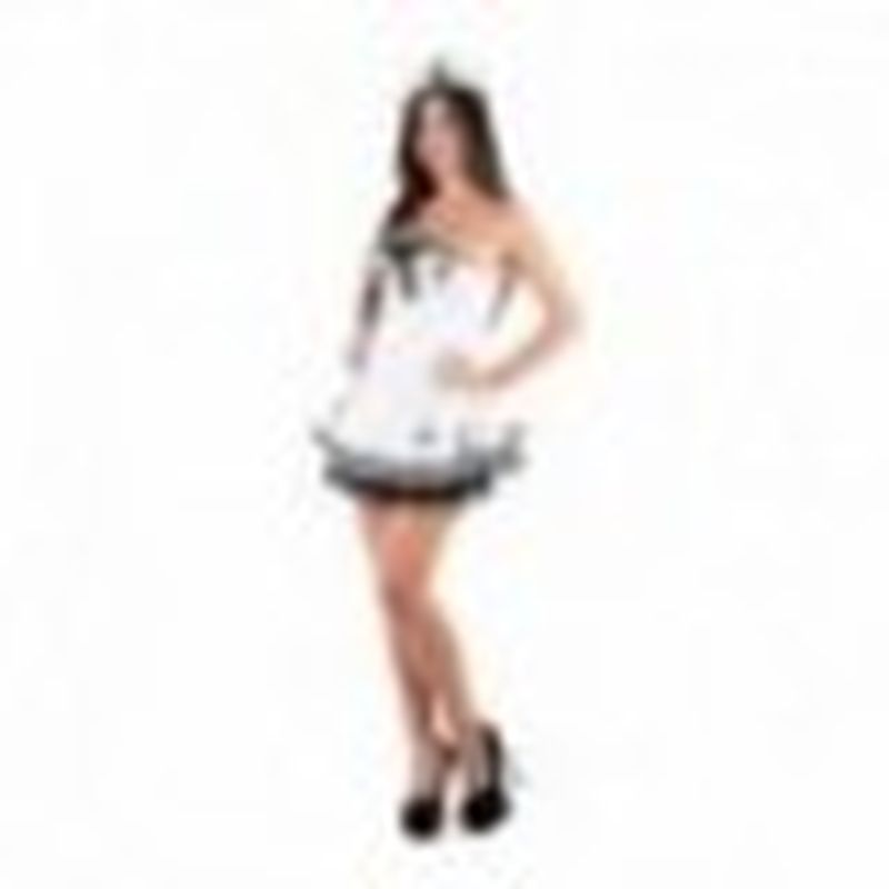 Disfraz Navy girl Blanco