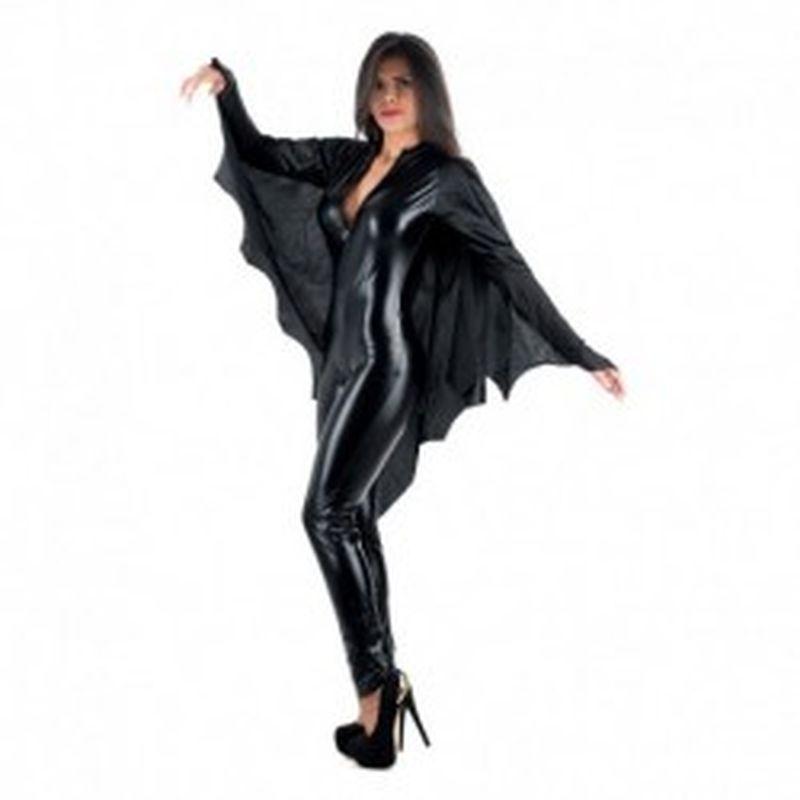 Disfraz Murciélago vampiresa Negro