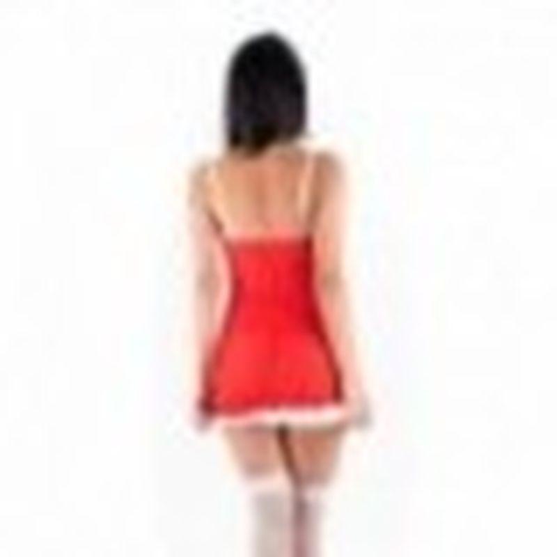 Disfraz Sexy Mama noel Rojo