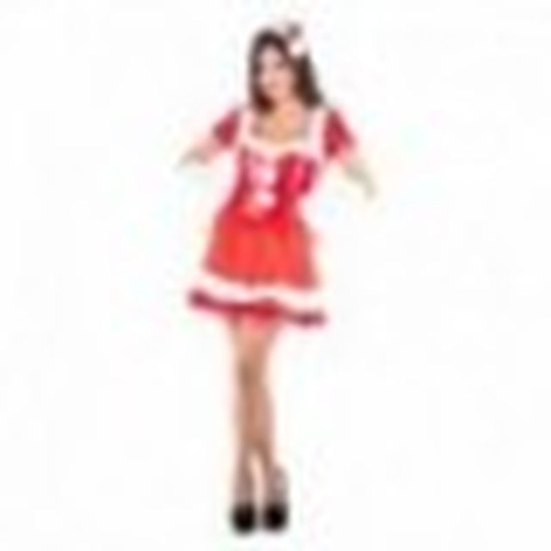 Disfraz Mamá Noel sexy Rojo