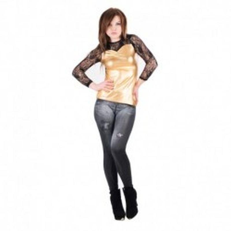 Camiseta Nicosia Dorado