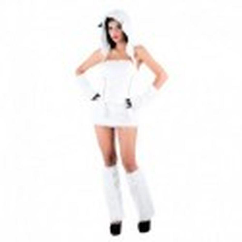 Disfraz Sexy oso polar Blanco