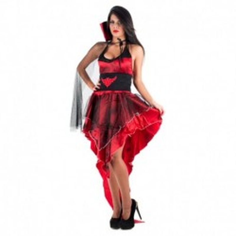Disfraz Vampiresa Rojo