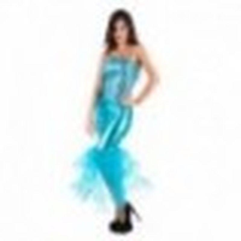 Disfraz Ariel Azul