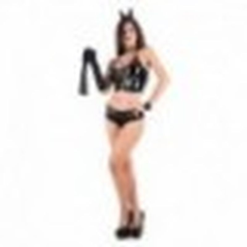 Disfraz Sexy Catwoman Negro