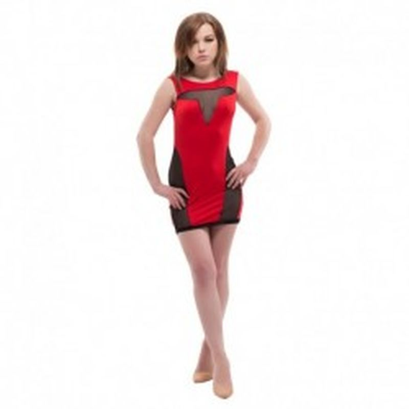 Vestido Iria Rojo