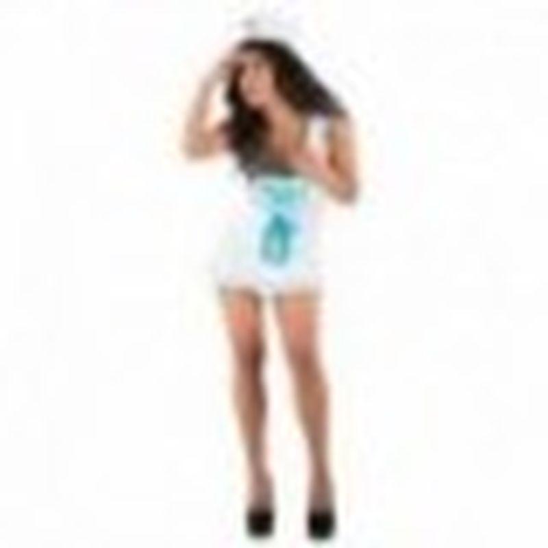 Disfraz Blouse Ellen Blanco