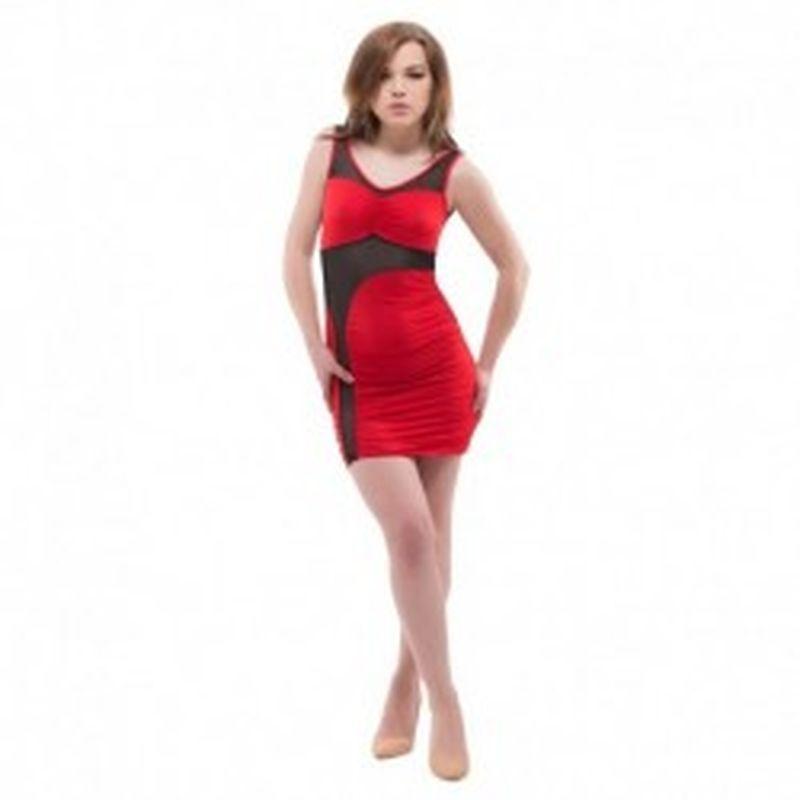 Vestido Amantea Rojo