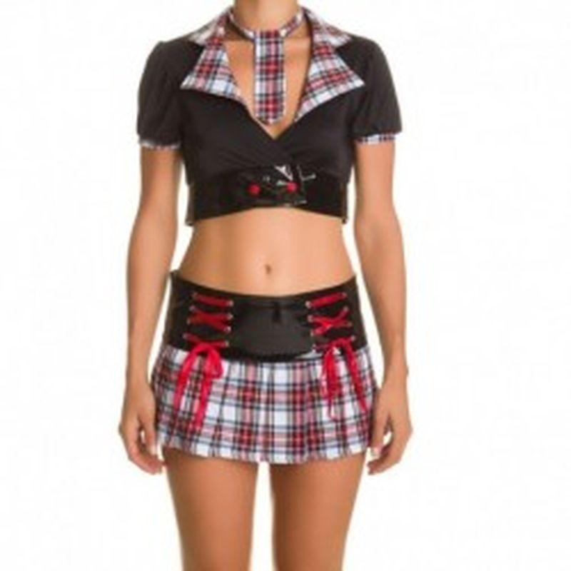 Disfraz Schoolgirl Negro