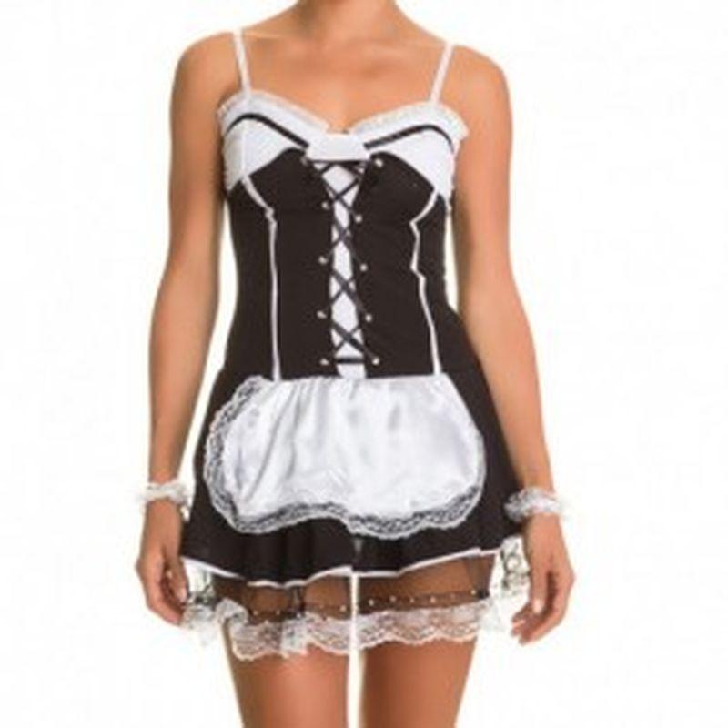 Disfraz Maid Negro