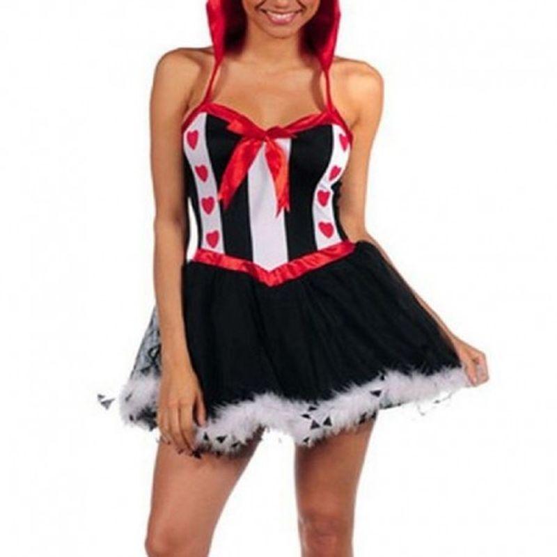 Disfraz Queen Rojo