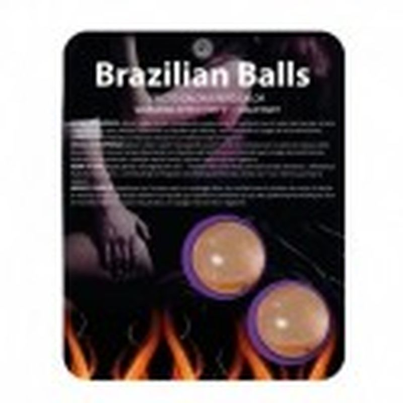 SET 2 BRAZILIAN BALLS EFECTO CALOR