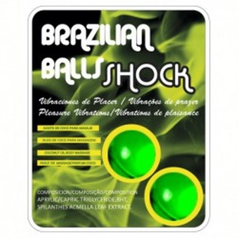 SET 2 BRAZILIAN BALLS SHOCK
