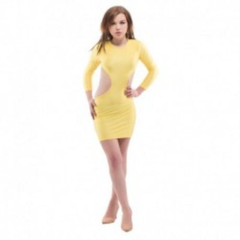 Vestido Jena Amarillo