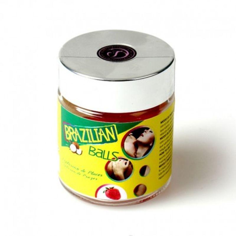 TARRO 6 BRAZILIAN BALLS CON AROMA DE FRUTAS - CHOCOLATE