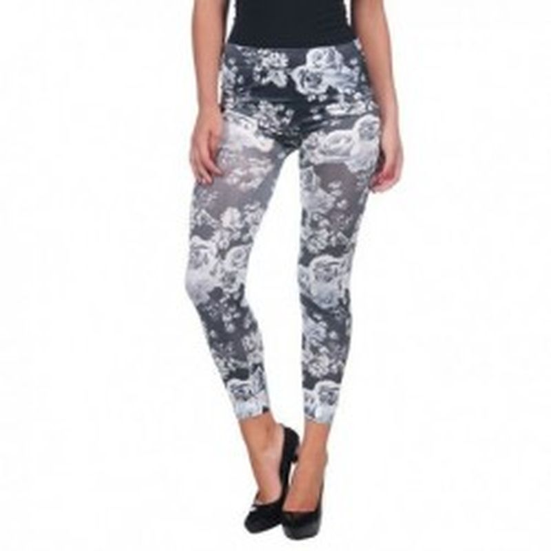 Legging byn Blanco
