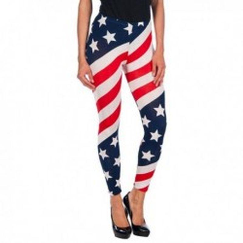 Legging USA Rojo
