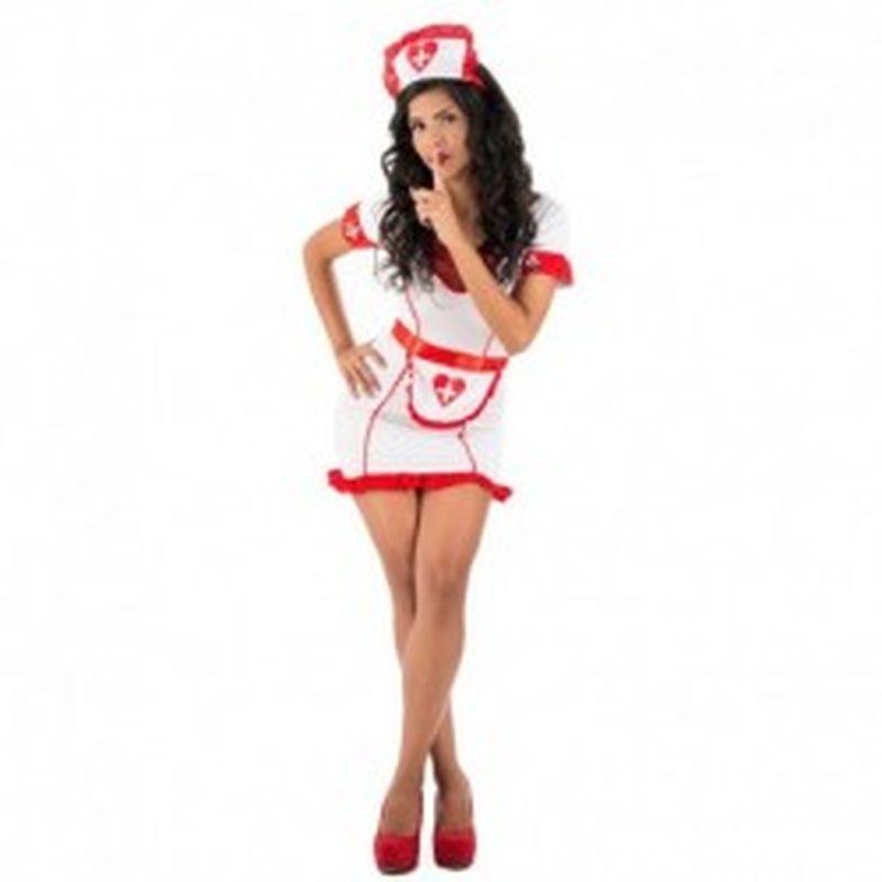 Disfraz Enfermera Parisia Blanco