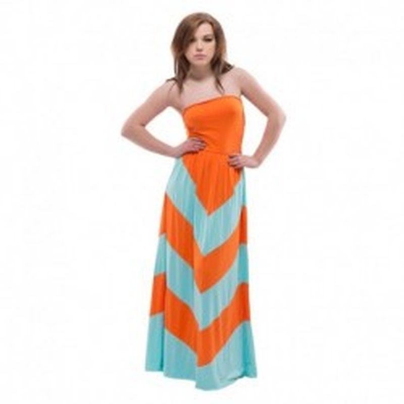 Vestido Corato Naranja