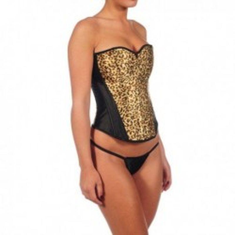 Corpiño Leopard Dorado