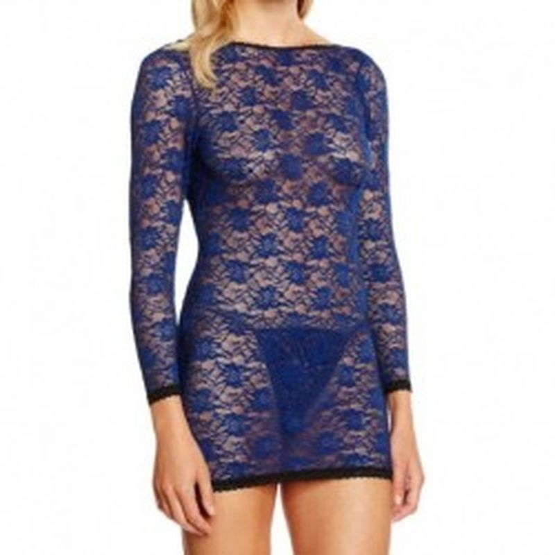 Body Rose Mesh Azul