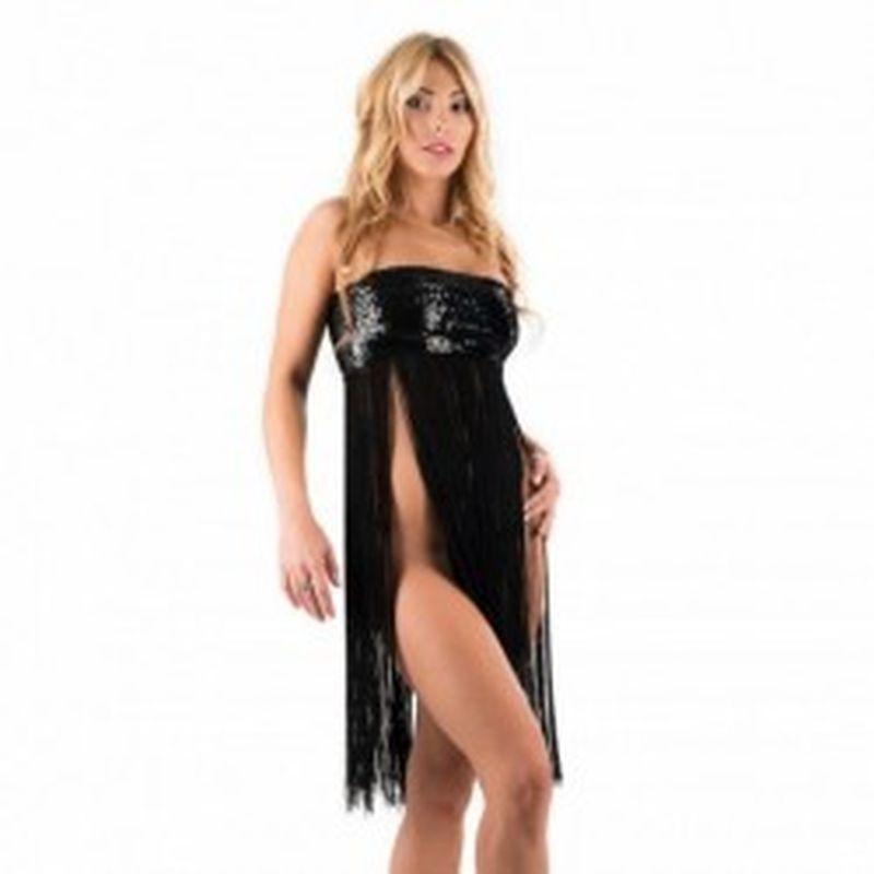 Mini vestido Kady Negro