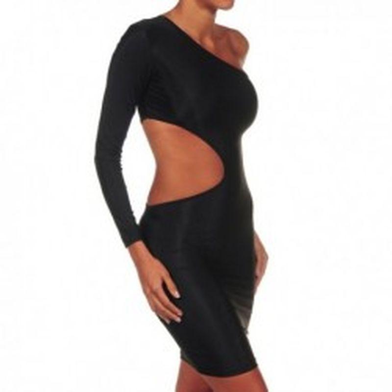 Mini vestido Samanda Negro