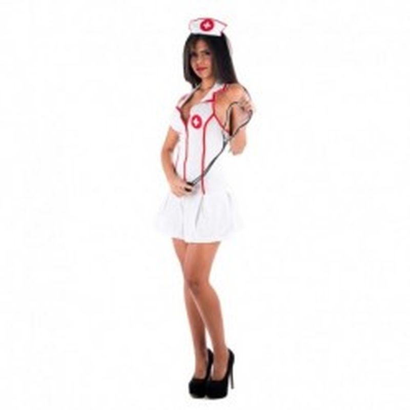 Disfraz Enfermera sexy Blanco