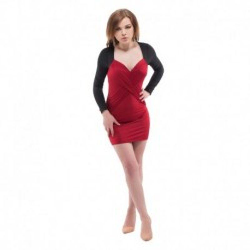 Vestido Valentina Granate