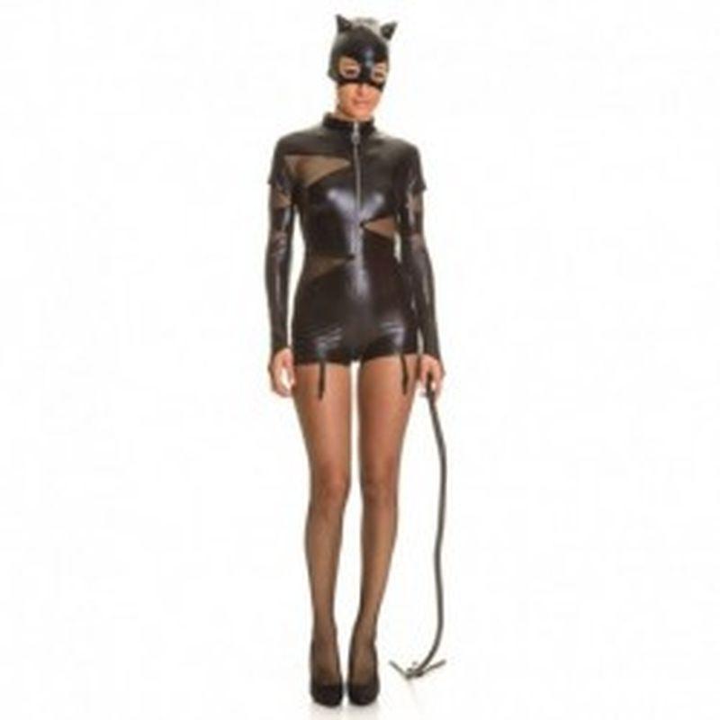 Disfraz Cat Women Negro