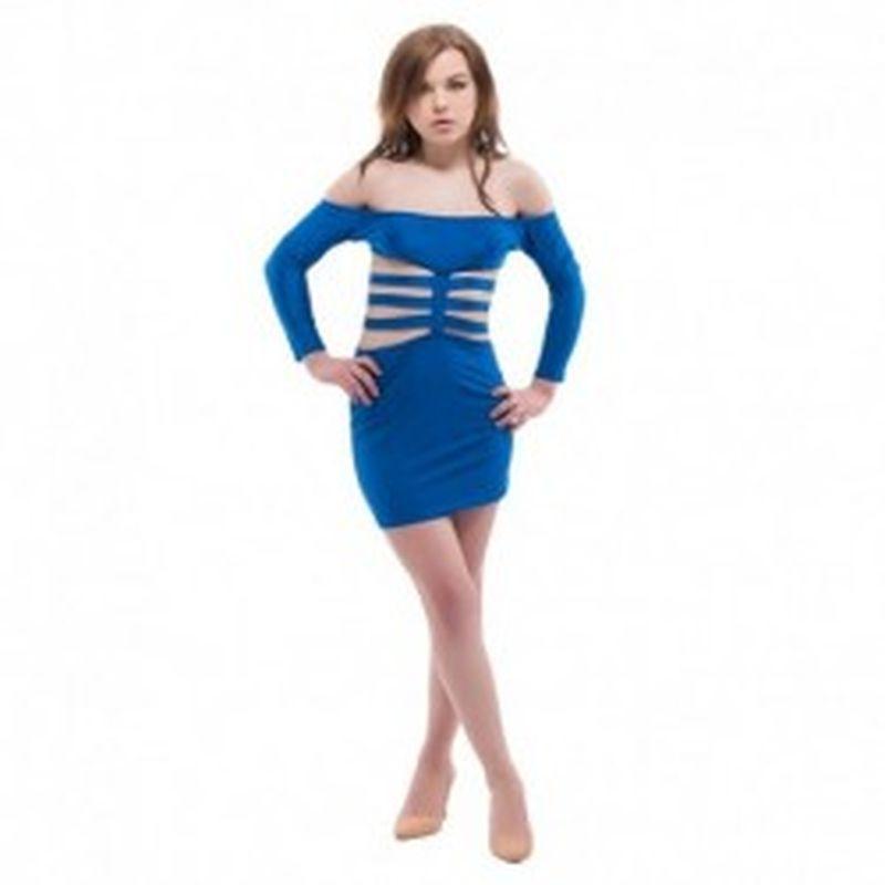 Vestido Scilla Azul