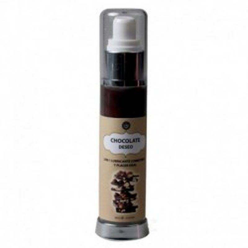LUBRICANTE COMESTIBLE CHOCOLATE C/AVELLANAS, 50 ml.