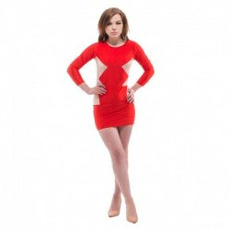 Vestido Sivilia Rojo